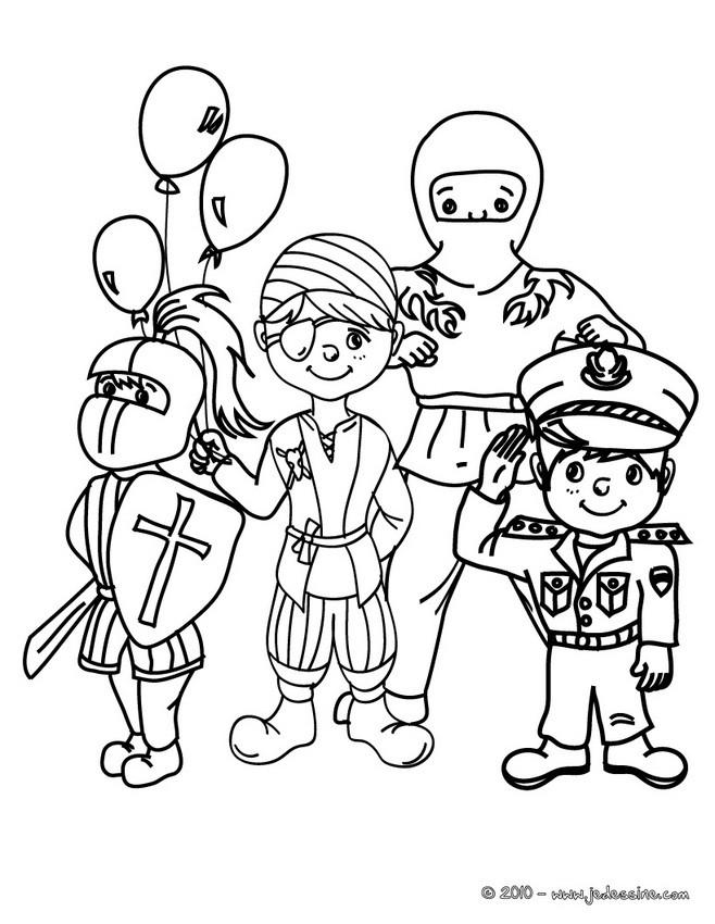 """Résultat de recherche d'images pour """"dessin deguisement enfant"""""""