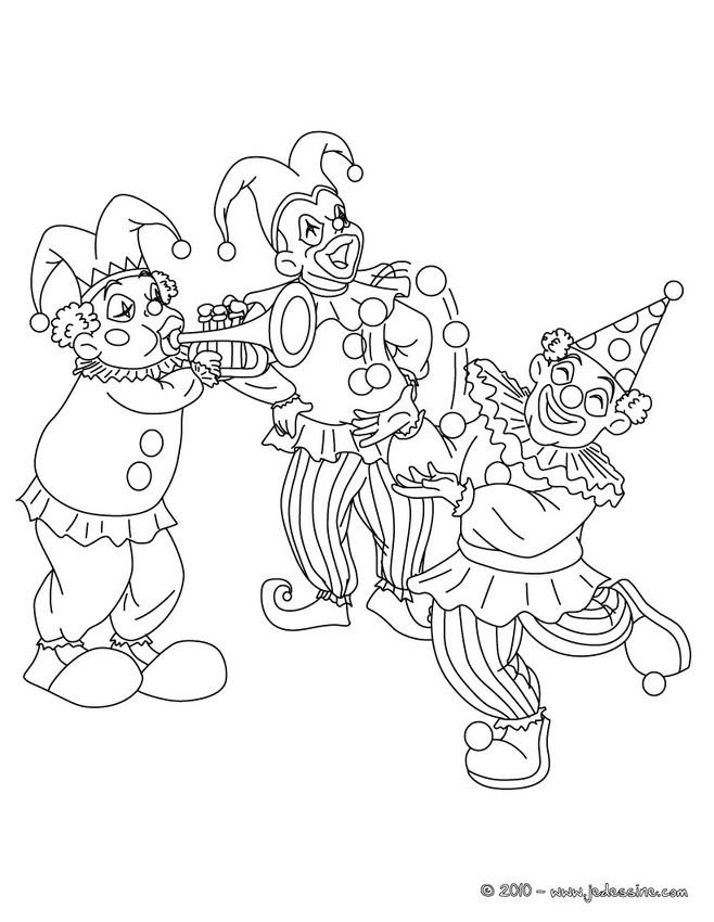Coloriages personnages du carnaval colorier fr - Dessin de pierrot ...