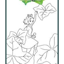Coloriage : Arrietty