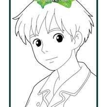 Coloriage : Shô, l'ami d'Arrietty