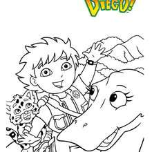 Coloriage DIEGO