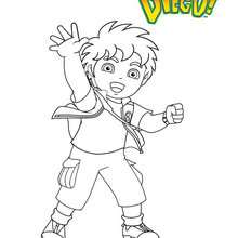 Coloriage : DIEGO à colorier