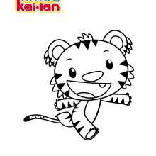 NI HAO KAI LAN  colorier - Coloriage - Coloriage DESSINS ANIMES - Coloriage NI HAO KAI LAN