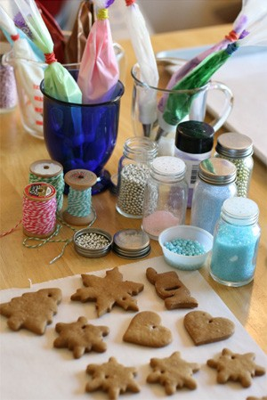 Recette : Biscuits des neiges