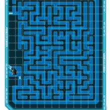 Labyrinthe TRON - Coloriage - Coloriage DISNEY - Coloriage et Jeux TRON