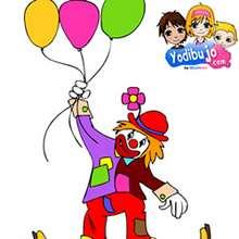 Casse-tête Clown aux ballons - Jeux - Casse-têtes chinois en ligne - Casse-têtes chinois Carnaval