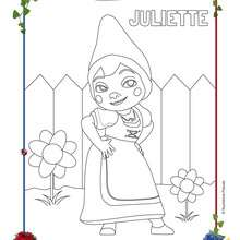 Coloriage JULIETTE