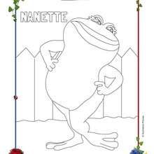 Coloriage NANETTE