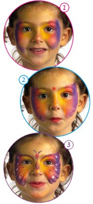 Article : Maquillage enfants Papillon
