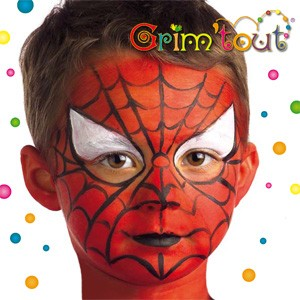 Fiche maquillage  Maquillage enfants Spiderman