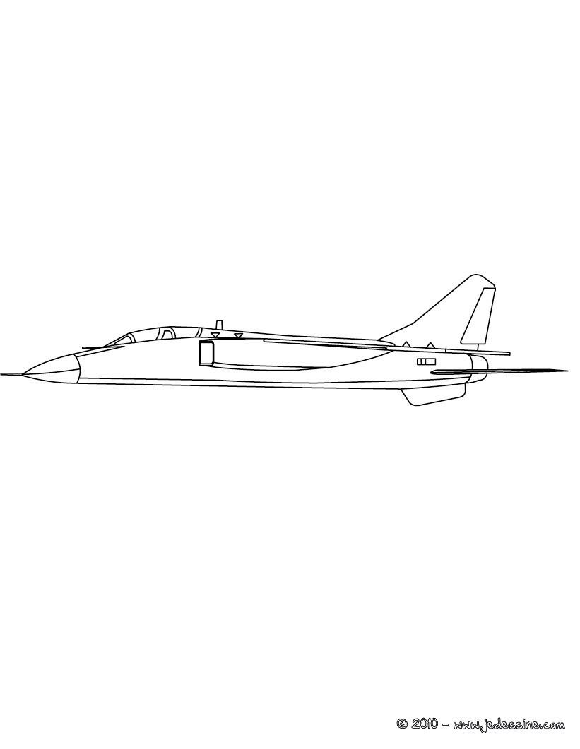 Coloriages Coloriage Avion De Guerre à Imprimer Fr
