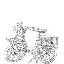 Coloriage bicyclette gratiut - Coloriage - Coloriage VEHICULES - Coloriage VELOS - Coloriage VELOS SPECIAUX