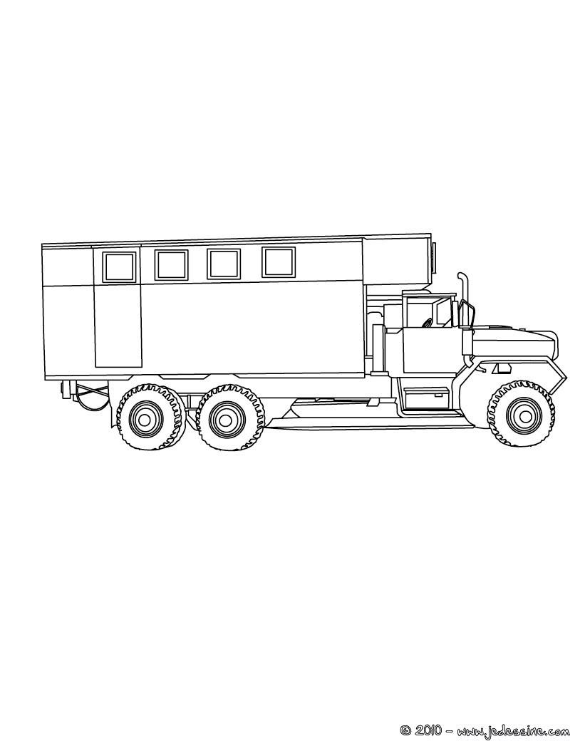 Coloriages camion benne colorier - Coloriage camion de poubelle ...