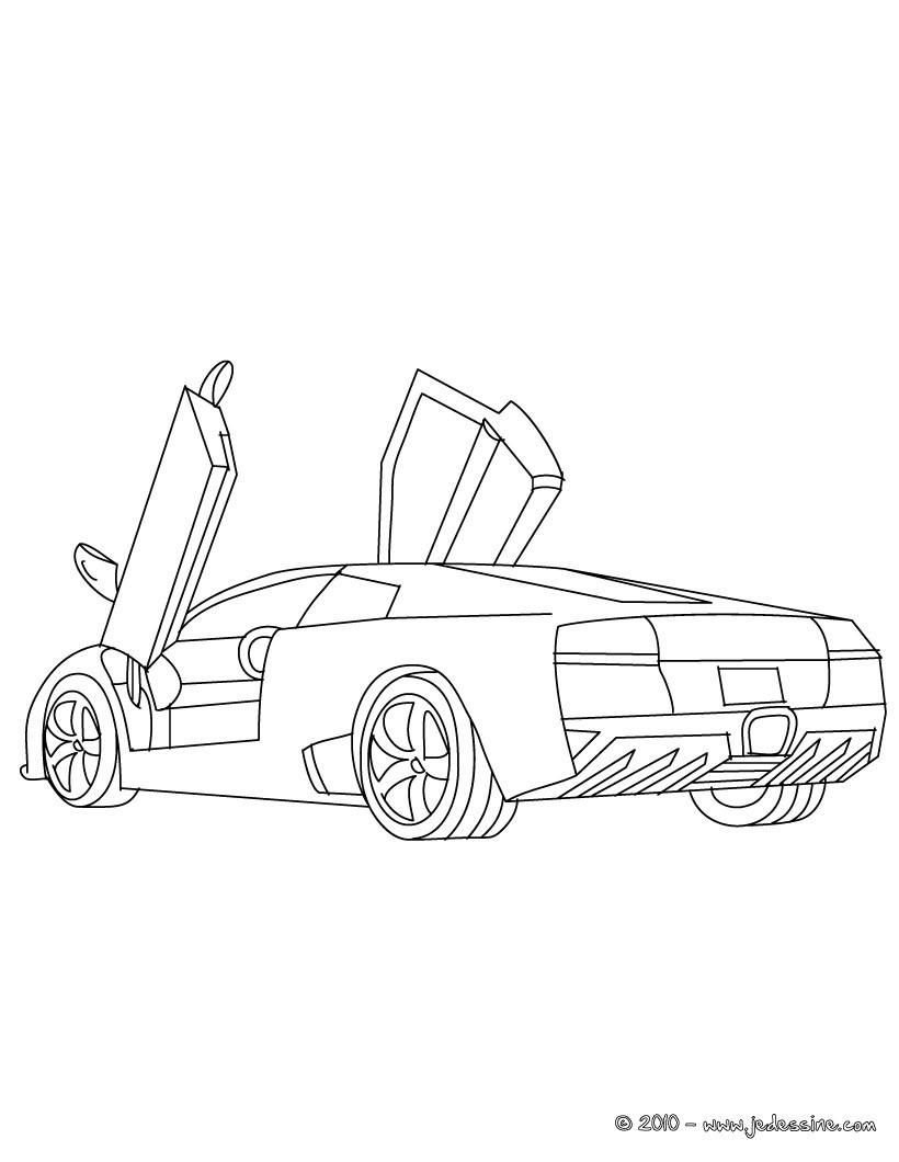 coloriage lamborghini murcielago coloriage coloriage vehicules coloriage voiture coloriage voiture de sport