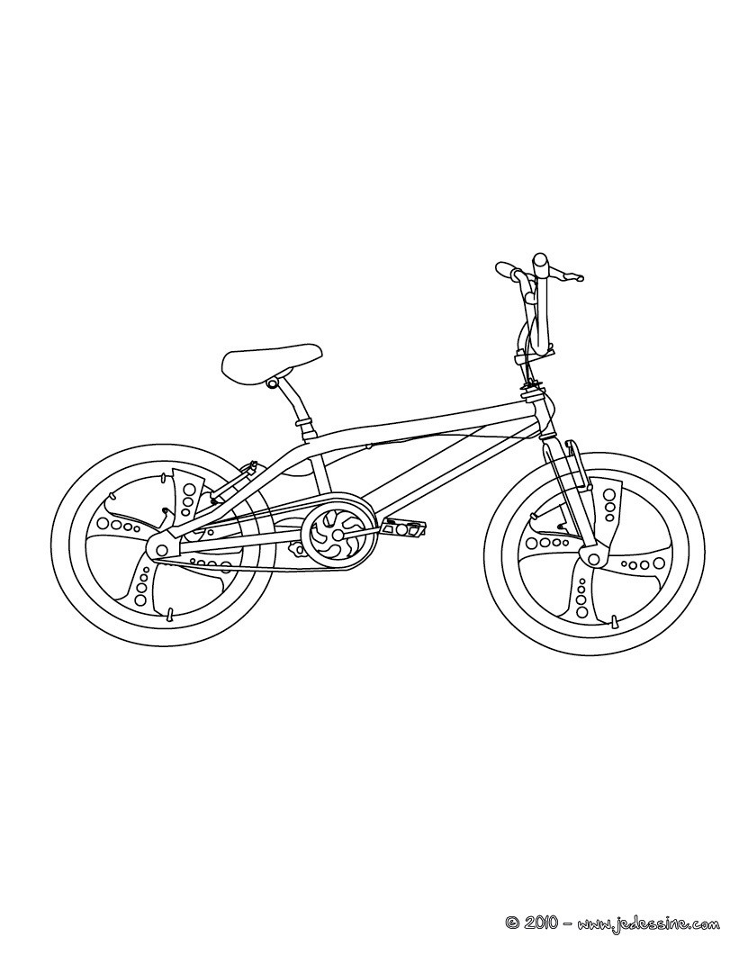 coloring pages of bmx - photo#13