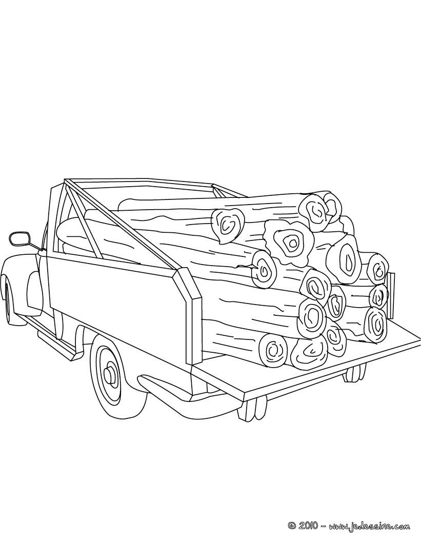 Coloriage Camion Samu.Coloriages De Voitures Coloriages Coloriage A Imprimer Gratuit