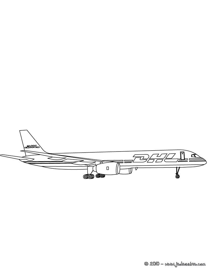 Coloriage Avion A Imprimer.Coloriages Avions Coloriages Coloriage A Imprimer