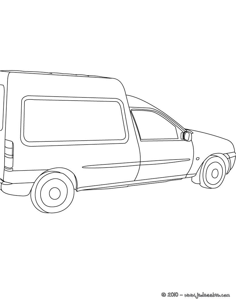 Coloriage A Imprimer Utilitaire.Coloriages Vehicule Utilitaire Fr Hellokids Com