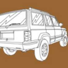 Coloriage PICK UP - Coloriage VEHICULES - Coloriage