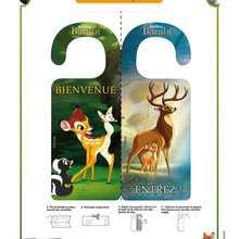 Pancarte de porte Bambi
