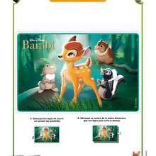 Activité : Tapis de Souris Bambi