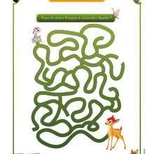 Le Labyrinthe Bambi - Coloriage - Coloriage DISNEY - Coloriage BAMBI