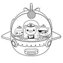 Coloriage octonauts coloriages coloriage imprimer gratuit - Octonauts dessin anime ...