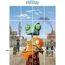 Jeu RANGO - Puzzle - Coloriage - Coloriage FILMS POUR ENFANTS - Coloriage RANGO