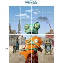 Jeu RANGO - Puzzle
