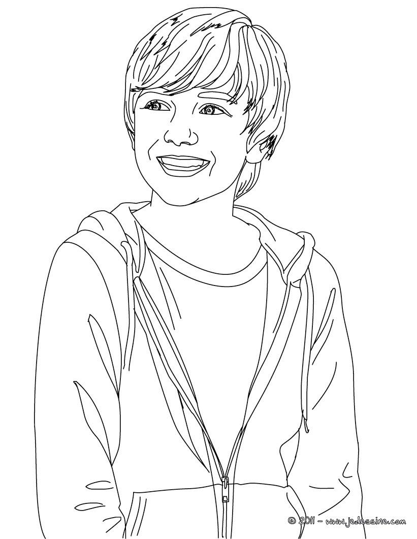 Mattyb coloring pages - Portrait Katy Perry Fleur Coloriage Greyson Chance Portrait Colorier