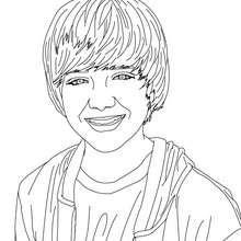 Coloriage sourire Greyson Chance - Coloriage - Coloriage DE STARS - Coloriage GREYSON CHANCE