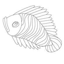 Poisson d'avril coloriage gratuit - Coloriage - Coloriage FETES - Coloriage POISSON AVRIL