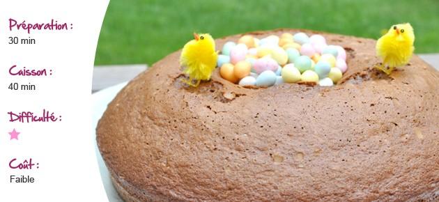 Gâteaux de Pâques au Nutella