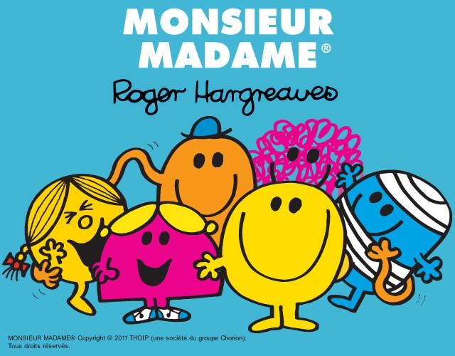 Coloriages monsieur madame - Coloriage de monsieur madame ...