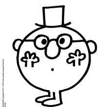 Colorier gratuitement MONSIEUR MALIN - Coloriage - Coloriage de MONSIEUR MADAME - Coloriage MONSIEUR - Coloriage MONSIEUR MALIN