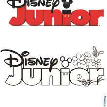 Coloriage DISNEYJUNIOR