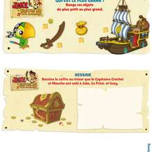 Jeux Jake et les pirates du pays imaginaire à imprimer