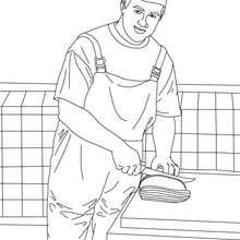 Dessin Boucher coloriages le boucher - fr.hellokids