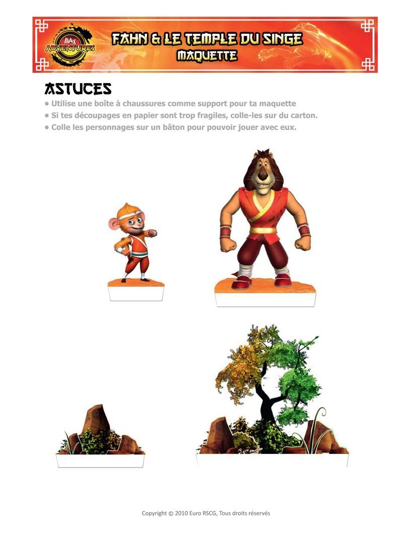 Les collages MAX Adventures - Max et Fahn - Jeux - Les jeux Max Adventures