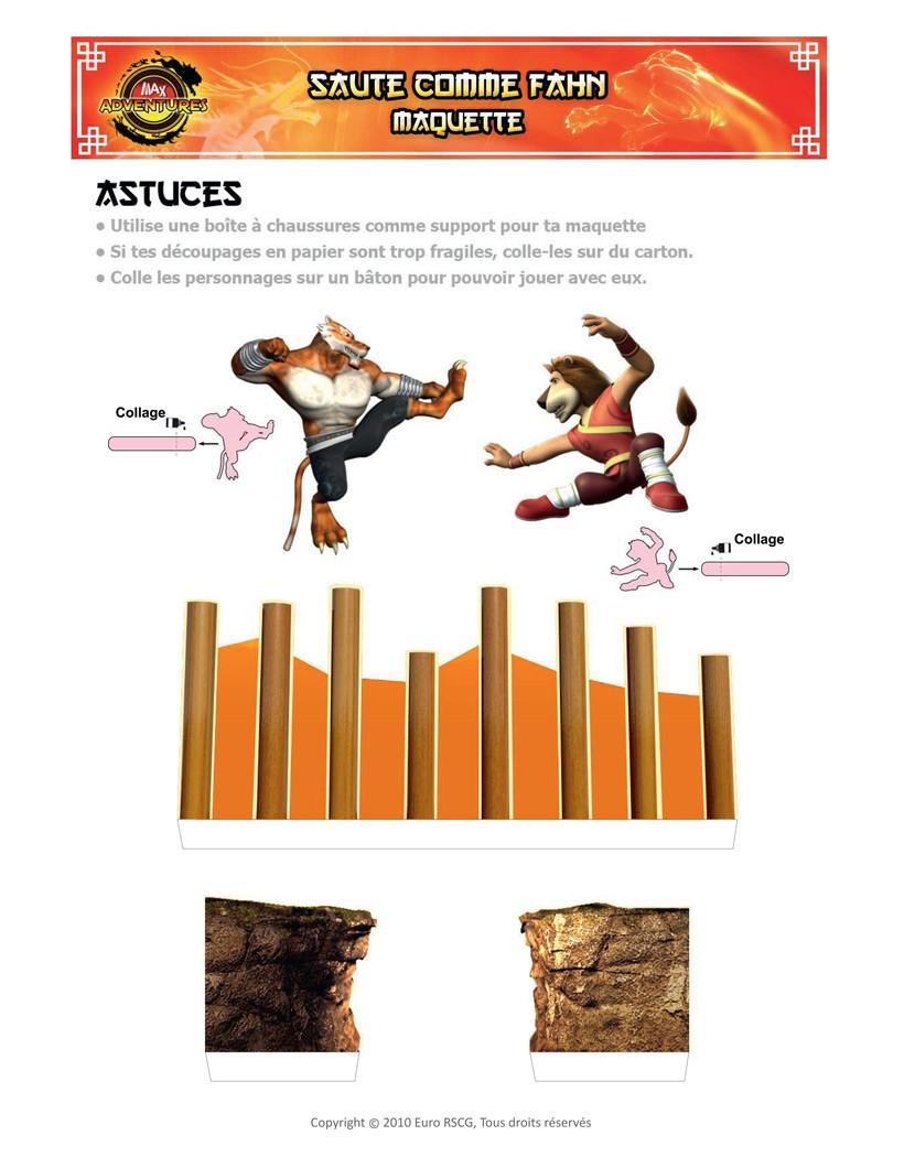 Les collages MAX Adventures