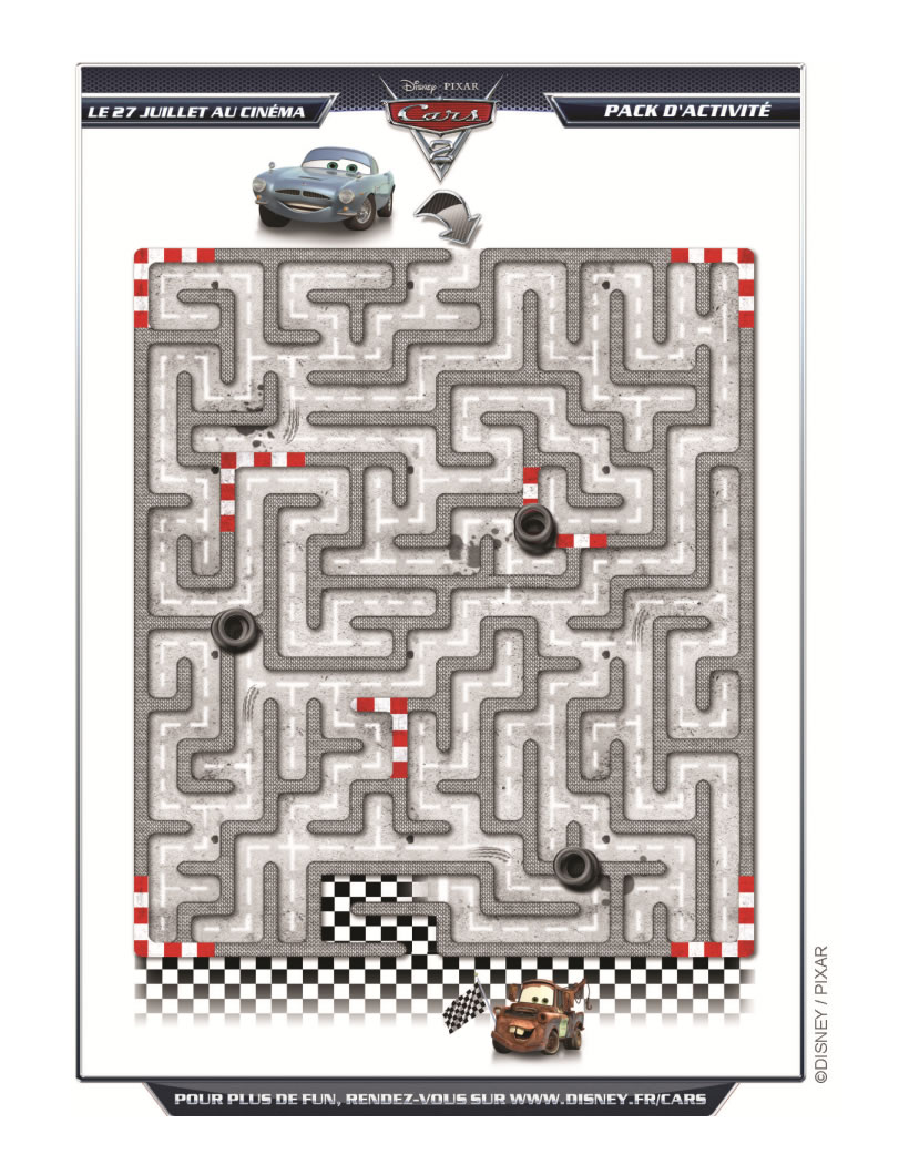 Le Labyrinthe Cars 2