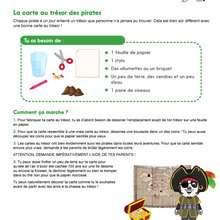 La Carte au trésor des pirates PANFU - Jeux - JEUX PANFU
