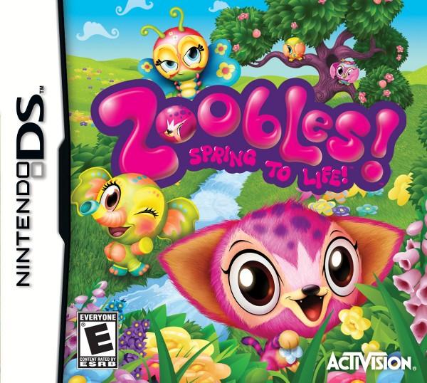 Zoobles le jeu sur Nintendo DS !