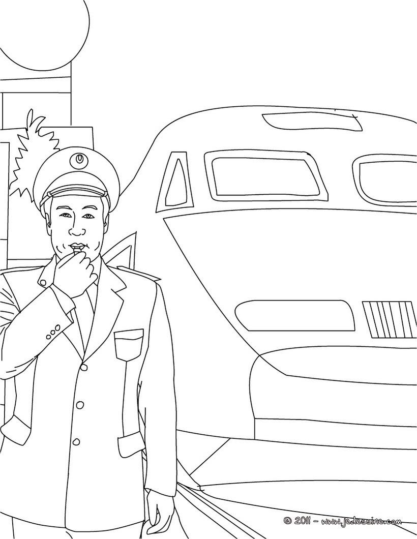 du voyageur coloring pages - photo#48