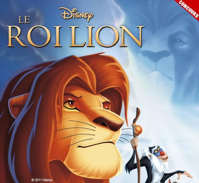 Joue avec le Roi Lion et gagne un max de cadeaux !