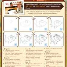 Apprendre à dessine Pumba (le roi lion) - Dessin - Dessiner les personnages du Roi Lion