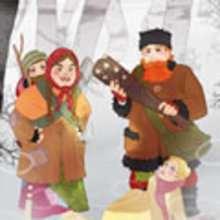 Conte : La reine des neiges : Cinquième histoire - La petite fille des brigands