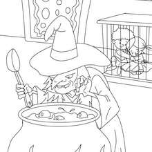 hansel si gretel coloring pages - photo#16