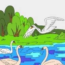 Le vilain petit canard - Jeux - Casse-têtes chinois en ligne - Casse-têtes sur les personnages de contes