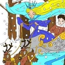Puzzle de La reine des neiges - Jeux - Casse-têtes chinois en ligne - Casse-têtes sur les personnages de contes